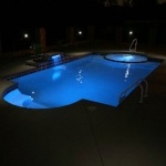 Pool at Night #7
